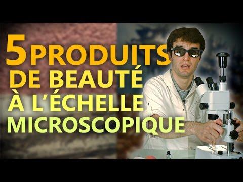 5 PRODUITS DE BEAUTÉ À L'ÉCHELLE MICROSCOPIQUE !