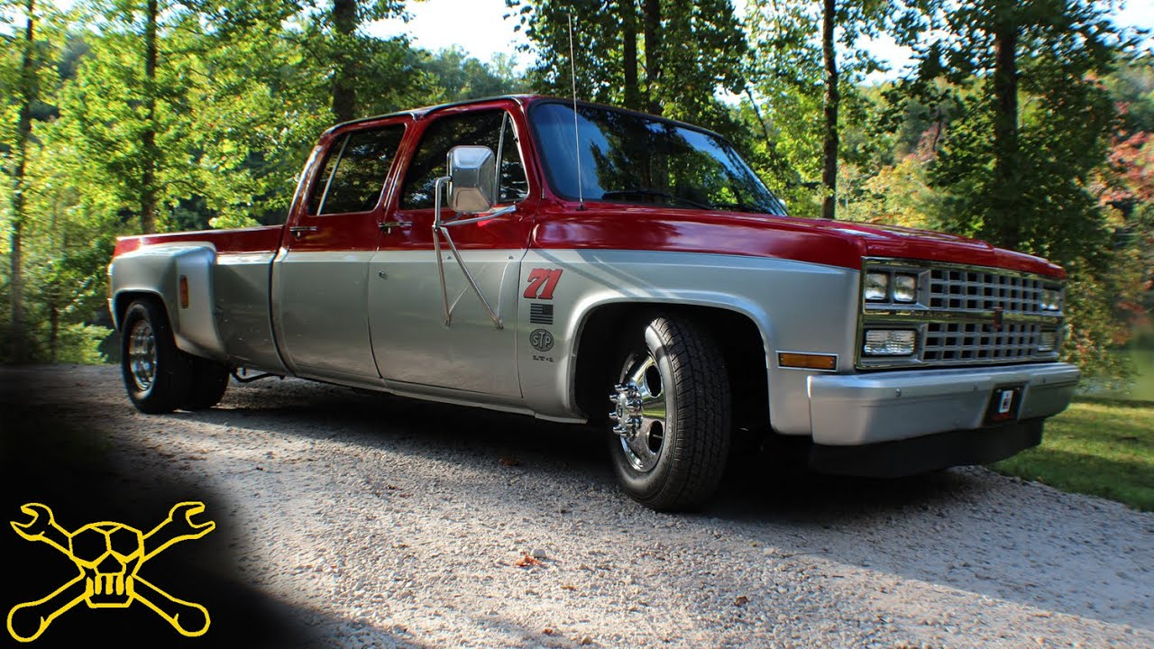 Lowered Chevy Dually | Hughwear Apparel Co. - YouTube