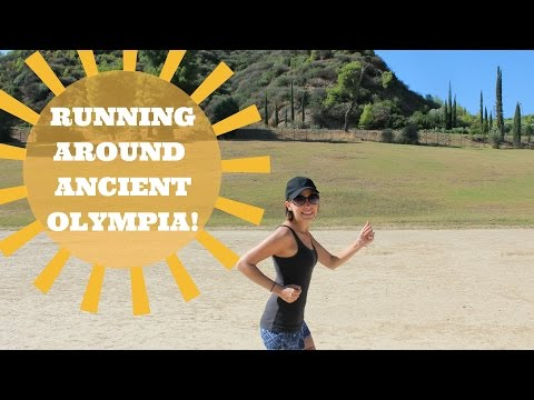 Ancient Olympia: Backpacking Europe!