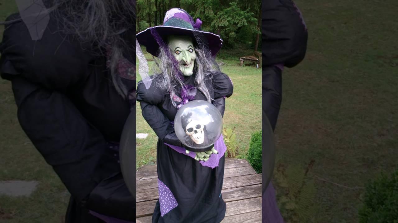 gemmy halloween witch life size animated - Www Gemmy Com Halloween