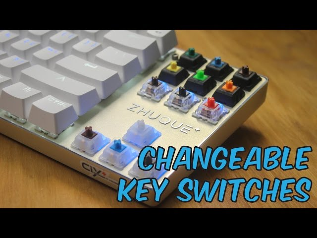 Teamwolf Zhuque X05 CIY Gaming Mechanical Keyboard - Unboxing & Review