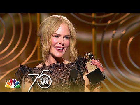 Nicole Kidman Wins Best Actress in a Limited Series at the 2018 Golden Globes