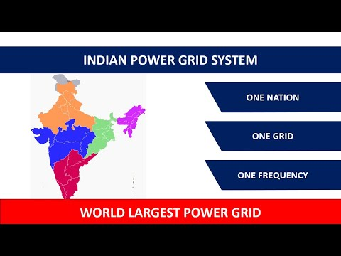 History of  Indian power grid system in hindi