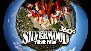 silverwood 360 roller coaster alley