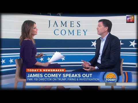 NBC Anchor Slams Comey, Who Makes Surprising Confession