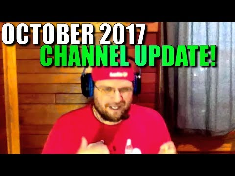 Darkdally October Channel Update Vlog and FALLOUT 4 Build Competition!