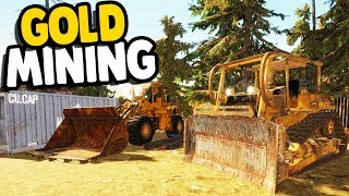 BIG SCALE MINING OPERATION | Gold Rush: The Game Gameplay