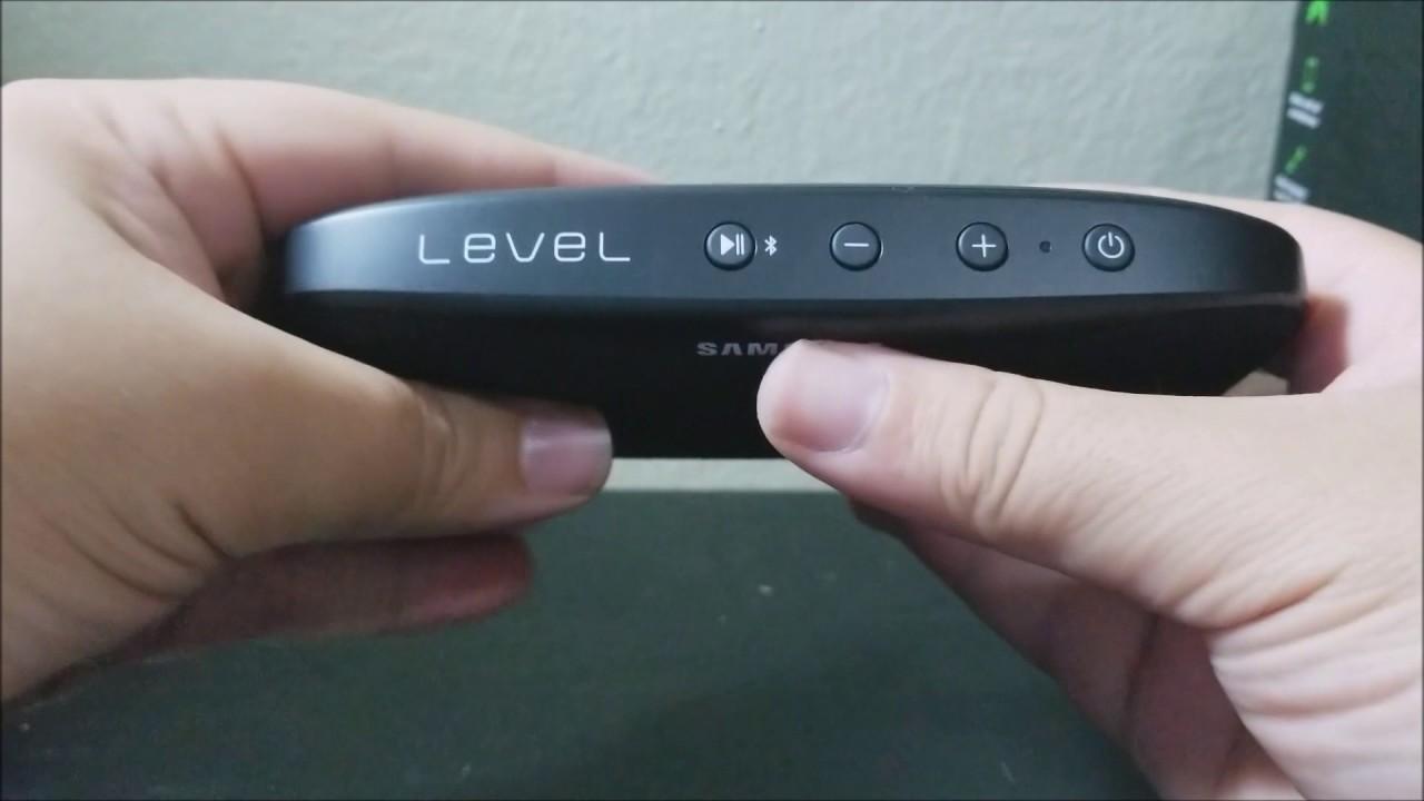 samsung level box slim portable speaker unboxing youtube. Black Bedroom Furniture Sets. Home Design Ideas