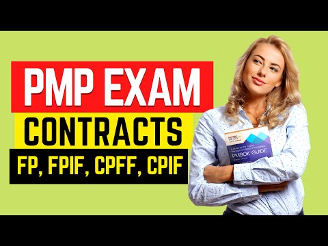 PMP Exam CONTRACT Types SIMPLIFIED - FP, CR, T&M