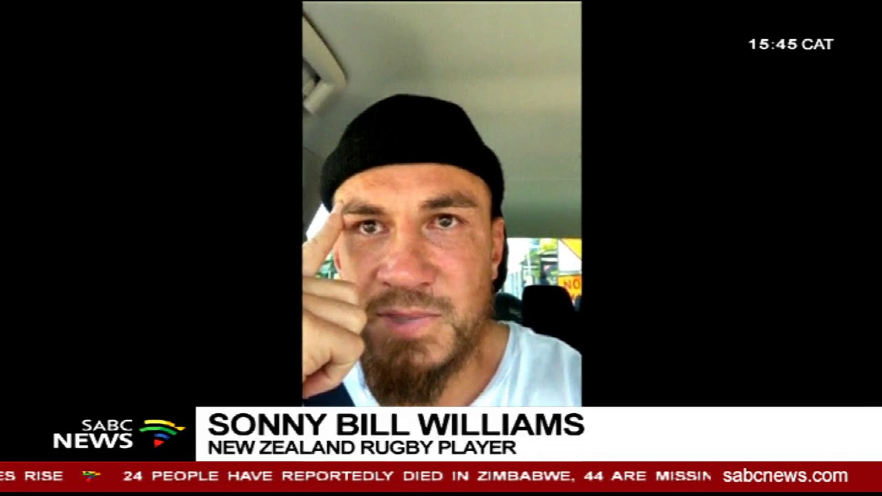 Rugby player Sonny Bill Williams sympathises with New Zealand shootings  victims