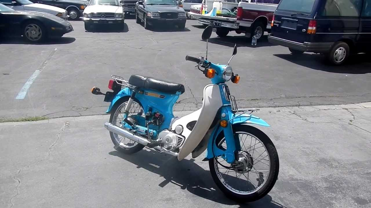 1981 honda passport 70 scooter bike moped motorcycle youtube. Black Bedroom Furniture Sets. Home Design Ideas