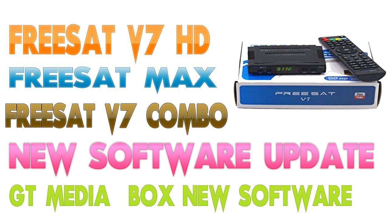Freesat v7 hd freesat max Freesat V7 Combo new Software