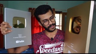 Gambar cover UNBOXING GOLD AND SILVER PLAY BUTTON !!