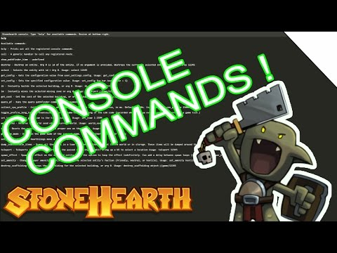 Stonehearth Console Commands and Cheats!