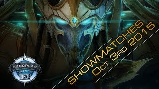 StarCraft II: Legacy of the Void Show Matches – European Road to BlizzCon 2015