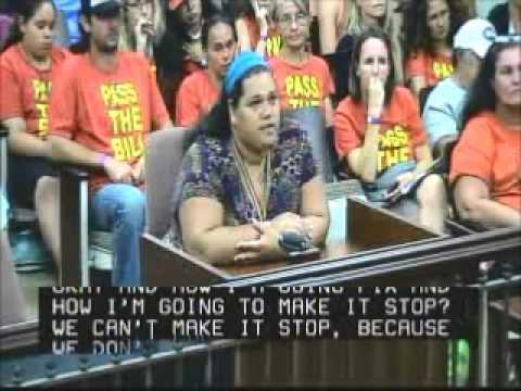Mother Randi Li Dickinson Testifies Kauai County Council Sept 27, 2013