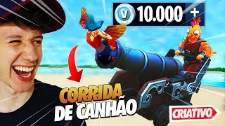 CANNON RACE VALENDO 10000 V-BUCKS-FORTNITE