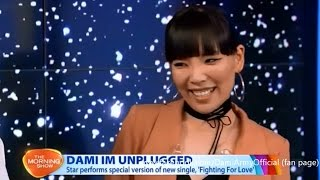 Dami Im - Fighting For Love LIVE on The Morning Show + INTERVIEW