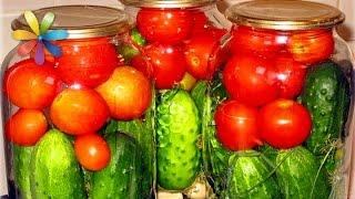 Консервируем овощи в одной банке с Аллой Ковальчук – Все буде добре. Выпуск 856 от 04.08.16