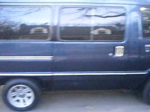 My 1987 Toyota Van