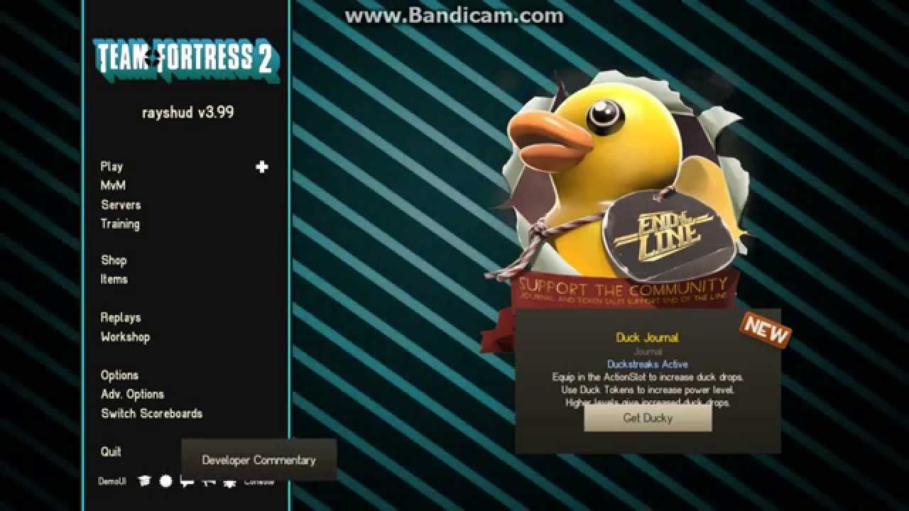 TF2 Showcase - Rayshud's HUD, Main menu, And more! [Suggested by Juma!]