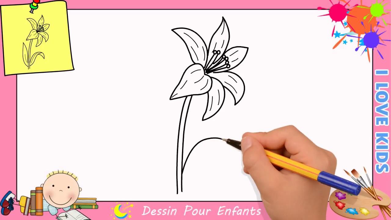 Comment Dessiner Une Fleur Facilement Etape Par Etape Pour Enfants 7