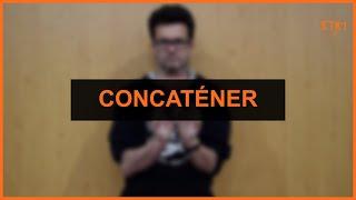 Mathématiques - Concaténer