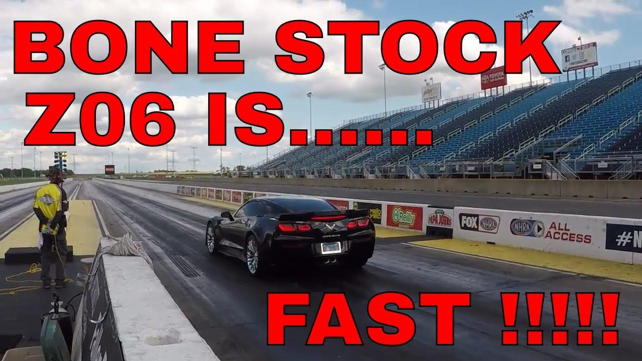 2016 Corvette Z06 Stock Quarter Mile 1 4