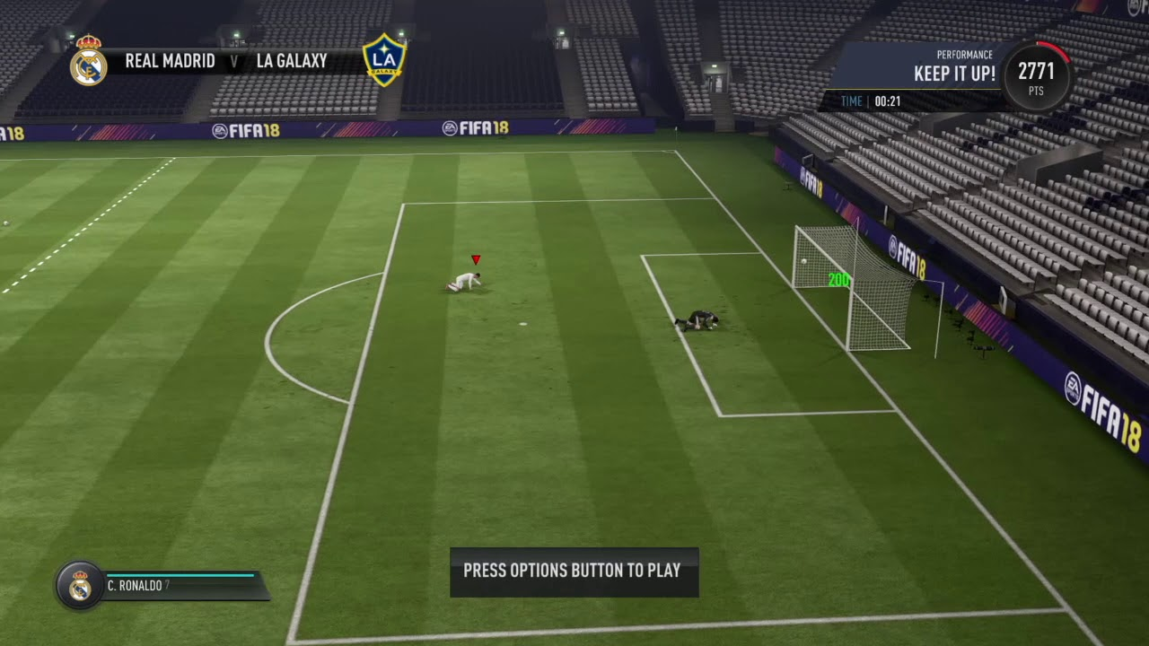 Fifa 18 bicycle kick buttons training players fifa 11