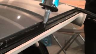 Skoda Oktavia   замена лобового стекла(, 2015-03-29T20:05:17.000Z)