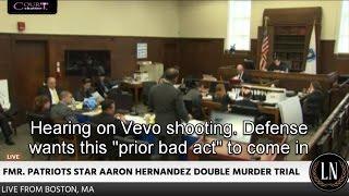 Aaron Hernandez Trial Day 13 Part 5 (Vevo Club Video Hearing) 03/20/17