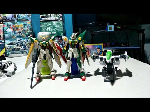 5 Year's Of My HGBF 1/144 Wing Gundam Fenice Gunpla Model Kit