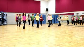 Looking At The Moon - Line Dance (Dance & Teach in English & 中文)