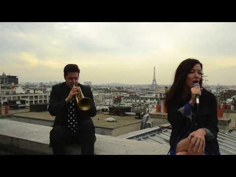 Emilie-Claire Barlow - C'est si bon - A rooftop rehearsal in Paris
