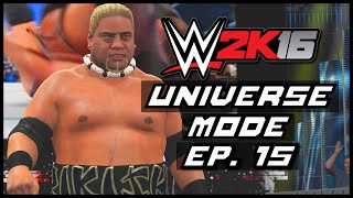 WWE 2K16 | Universe Mode -