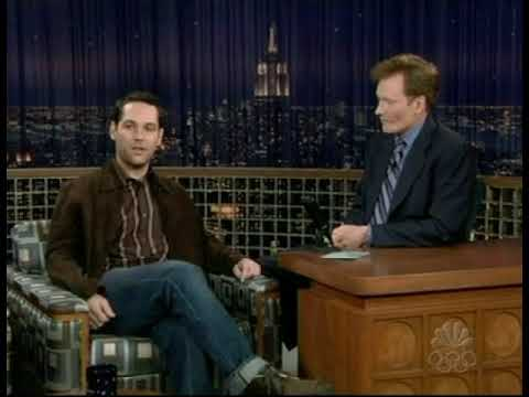 Heres A Segment From Rudds February   Appearance On Nbcs Late Night With Conan Obrien Skip To  To See The Mac And Me Clip