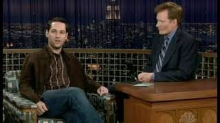 Paul Rudd Interview - 2/6/2004 (First appearance of the Mac and Me clip)
