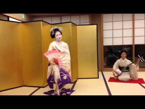 Geisha Dance in Kyoto, Japan