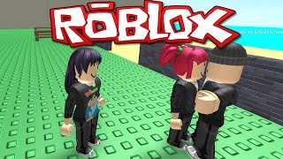 ROBLOX - ESCAPE THE BANK! - AMY'S NEW BAE! - GAMEPLAY