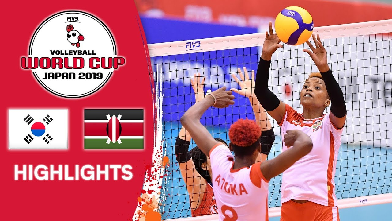 KOREA vs. KENYA - Highlights | Women's Volleyball World Cup 2019