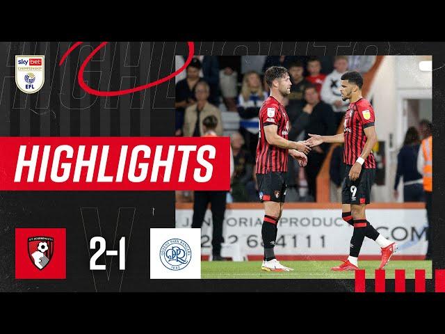 Solanke nets birthday winner 🎂 | AFC Bournemouth 2-1 QPR