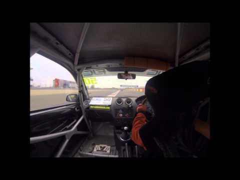 Geri Nicosia - Race 1 Fiesta Junior - Silverstone 6 April 2014