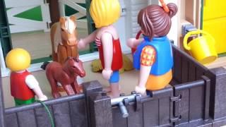 Playmobil Film deutsch Ein Schreck auf dem Ponyhof