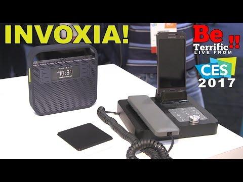 Invoxia at CES 2017 on BeTerrific!! Triby IO, NVX 200, Voice Bridge!