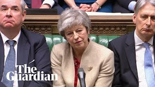 MPs vote against Theresa May's Brexit withdrawal agreement for third time