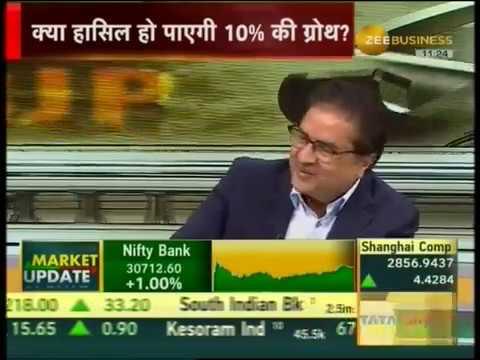 Mr. Raamdeo Agrawal on Zee Business discussing Election Results