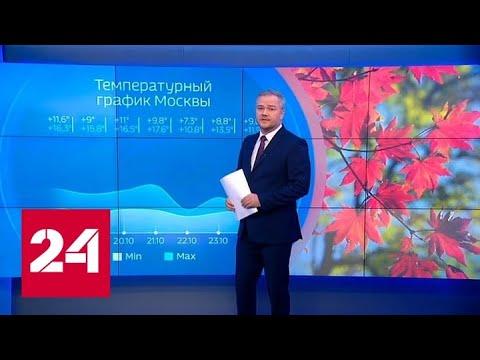 """""""Погода 24"""": столичным автомобилистам рекомендуют """"переобуться"""" - Россия 24"""