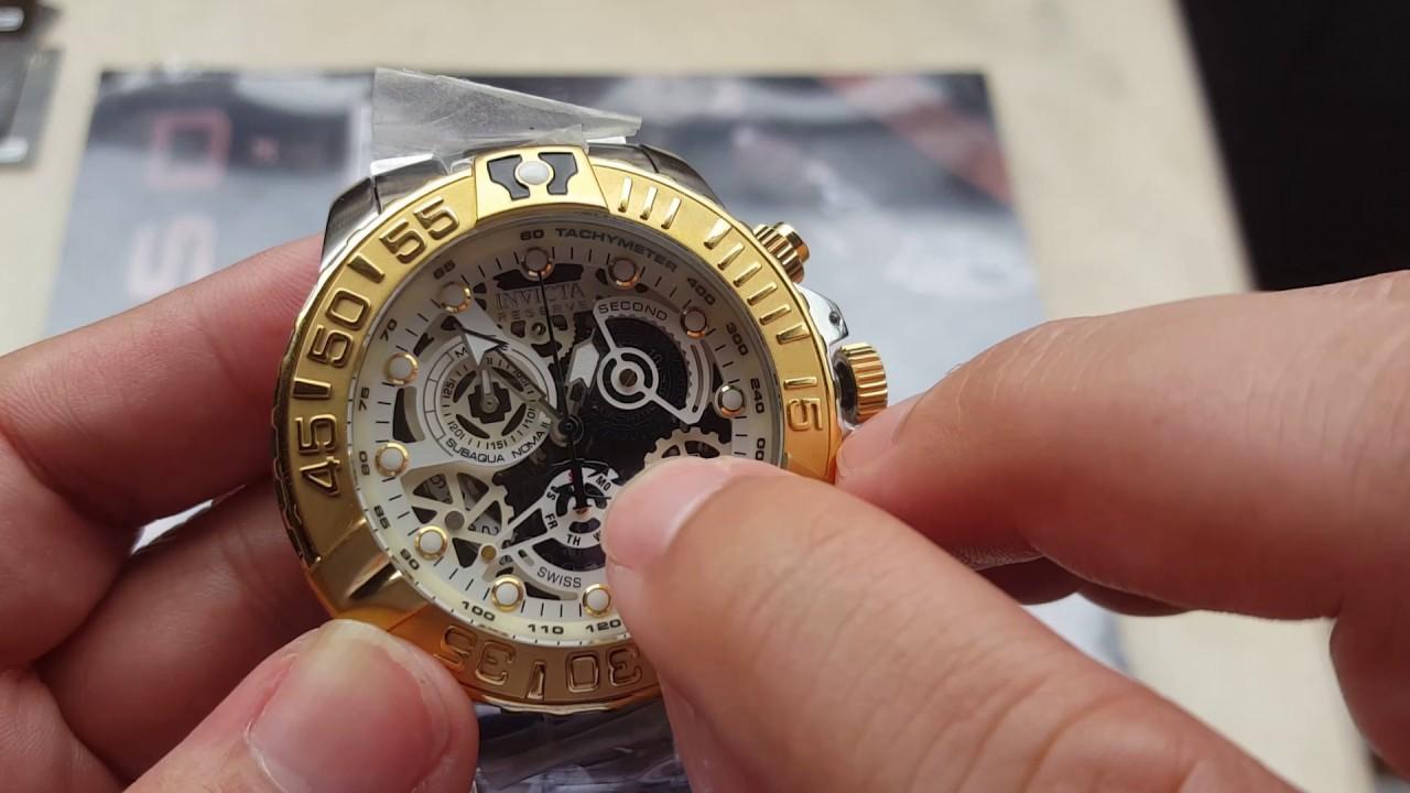 e1a3cc68285 Relógio invicta subaqua noma II suiço referência 18234 edição limitada  original na altarelojoaria - YouTube