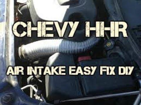 Chevy       HHR    air intake hose fix the felt hose fix DIY  YouTube