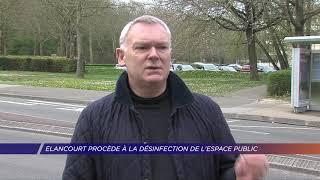 Yvelines | Elancourt procède à la désinfection de l'espace public